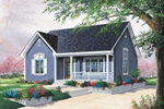 Southern House Plan Front Image - 032D-0542 | House Plans and More
