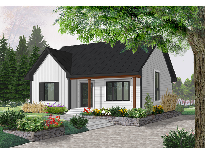 Southern House Plan Front Photo 03 - 032D-0542 | House Plans and More
