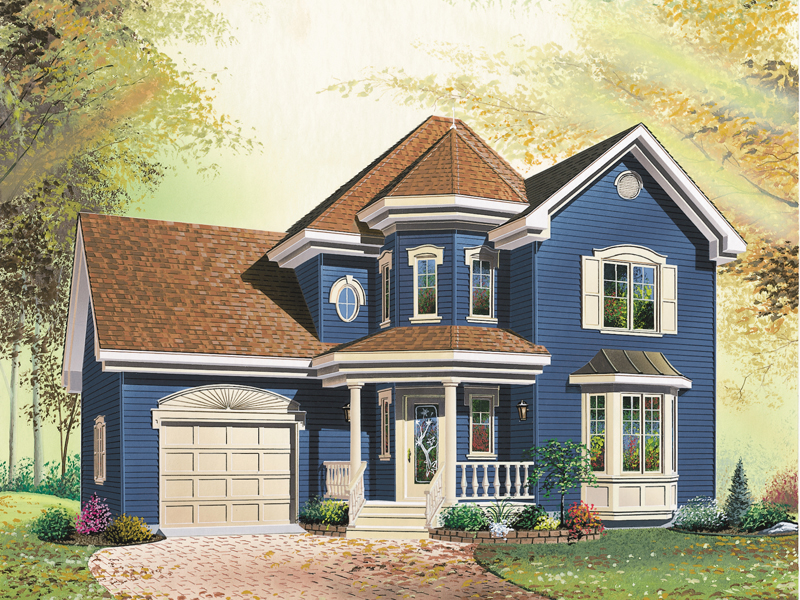 Southern House Plan Front Image - 032D-0545 | House Plans and More