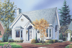 Stylish Traditional Home Has Arched Entry