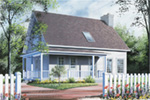 Traditional House Plan Front Image - 032D-0549 | House Plans and More