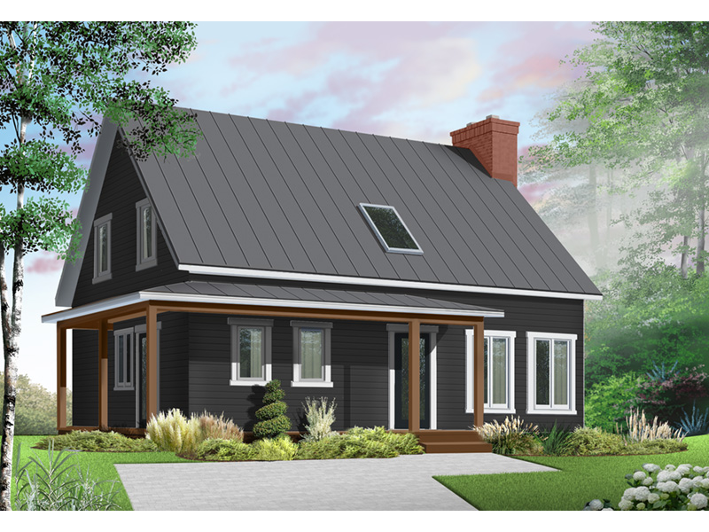 Traditional House Plan Front Photo 01 - 032D-0549 | House Plans and More