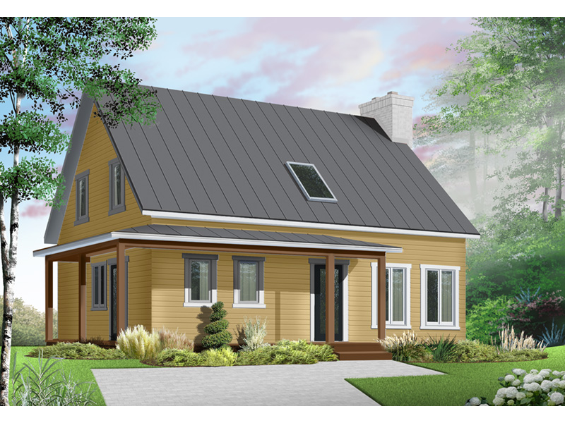 Traditional House Plan Front Photo 02 - 032D-0549 | House Plans and More