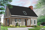 Traditional House Plan Front Photo 03 - 032D-0549 | House Plans and More