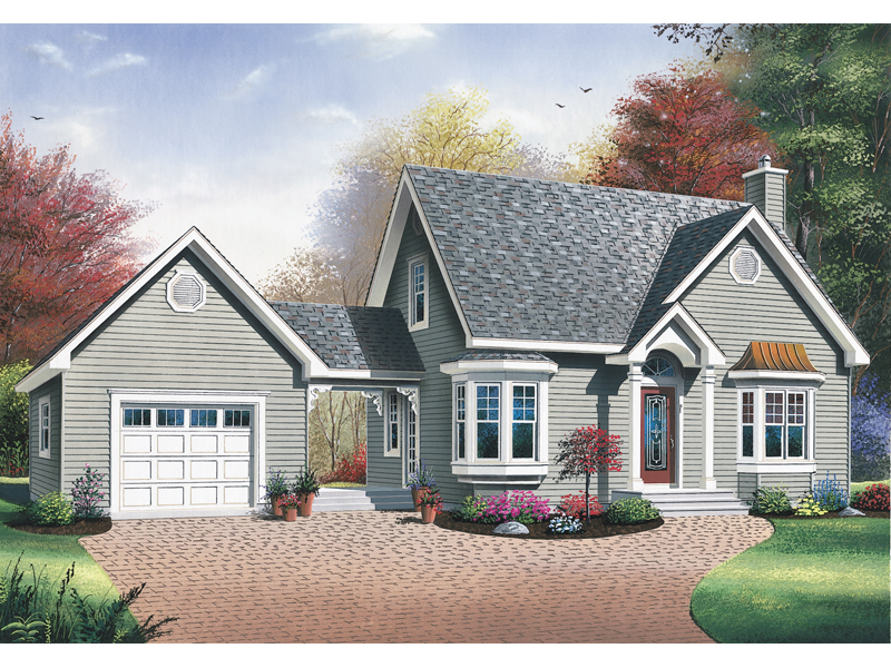 Blue bell country home plan 032d 0555 house plans and more Breezeway house plans
