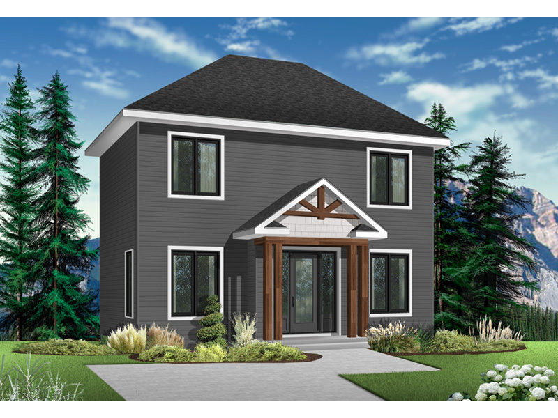 Traditional House Plan Front Photo 02 - 032D-0561 | House Plans and More