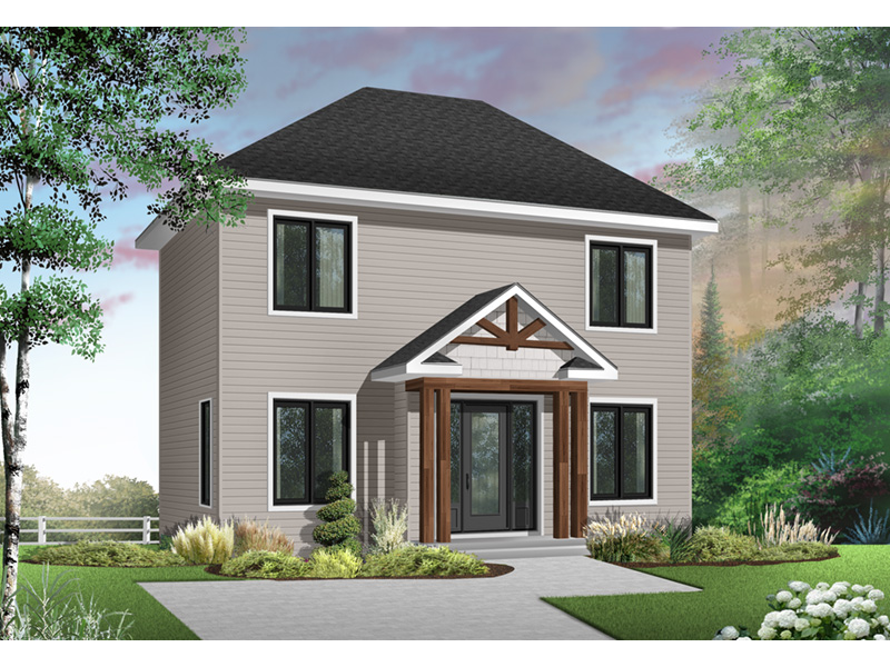 Traditional House Plan Front Photo 03 - 032D-0561 | House Plans and More