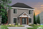 Colonial House Plan Front Photo 02 - 032D-0562 | House Plans and More