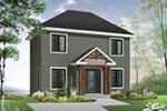 Colonial House Plan Front Photo 03 - 032D-0562 | House Plans and More