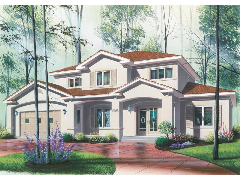 Luxury Stucco Floridian Style House With Great Style