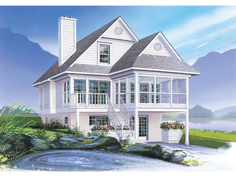 Traditional House Plan Front Image - 032D-0580 | House Plans and More