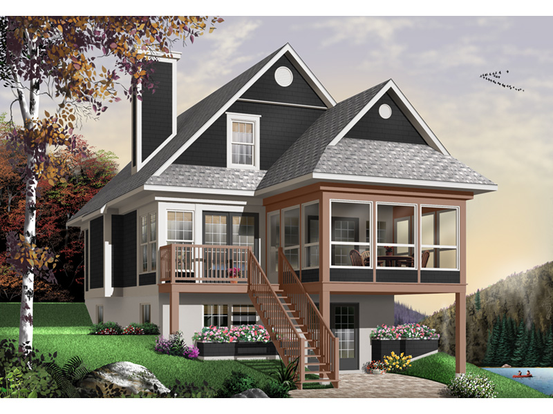 Traditional House Plan Front Photo 01 - 032D-0580 | House Plans and More