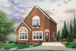 Traditional House Plan Front Image - 032D-0581 | House Plans and More