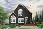 Traditional House Plan Front Photo 01 - 032D-0581 | House Plans and More