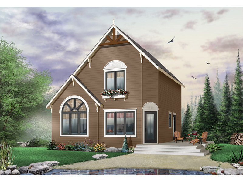 Traditional House Plan Front Photo 02 - 032D-0581 | House Plans and More