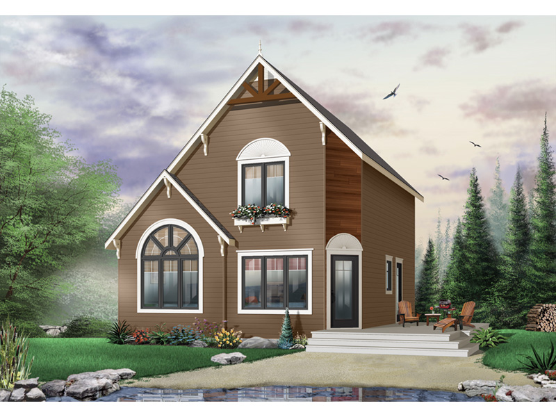 Traditional House Plan Front Photo 03 - 032D-0581 | House Plans and More