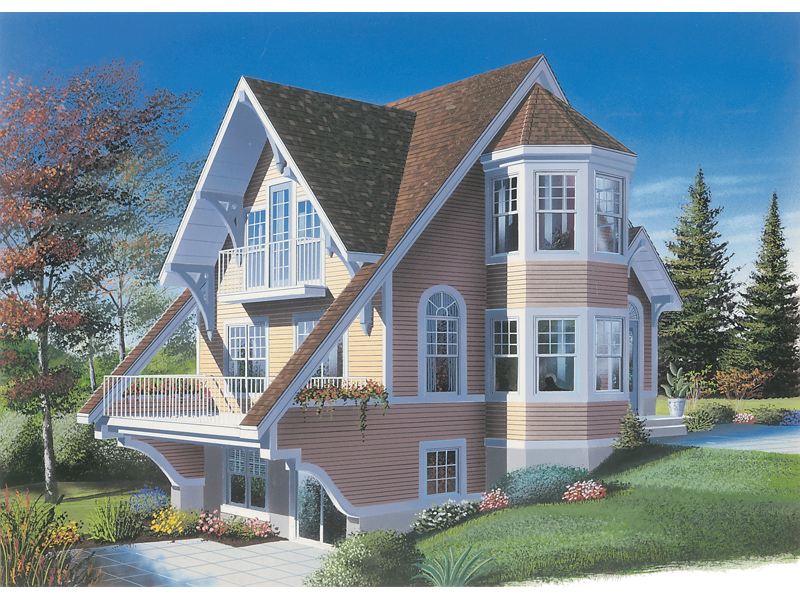 Front Image - 032D-0584 | House Plans and More