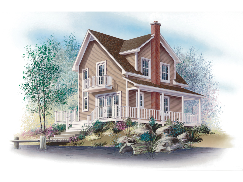 Country House Plan Front Image - 032D-0588 | House Plans and More
