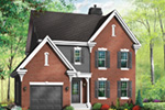 Southern House Plan Front Photo 01 - 032D-0600 | House Plans and More