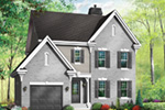 Southern House Plan Front Photo 02 - 032D-0600 | House Plans and More