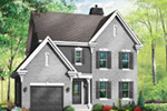 Traditional House Plan Front Photo 03 - 032D-0600 | House Plans and More