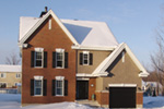 Traditional House Plan Front Photo 05 - 032D-0600 | House Plans and More