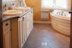 English Tudor House Plan Bathroom Photo 01 - 032D-0601 | House Plans and More