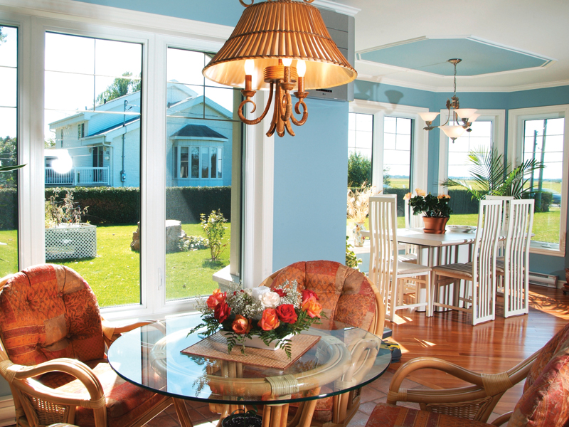 Traditional House Plan Dining Room Photo 01 032D-0601