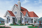 Arts & Crafts House Plan Front Image - 032D-0603 | House Plans and More