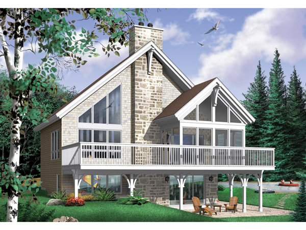 Modified A Frame House Plans Own Building Plans