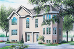 Multi-Family Home Offers A Two-Story Bay Window
