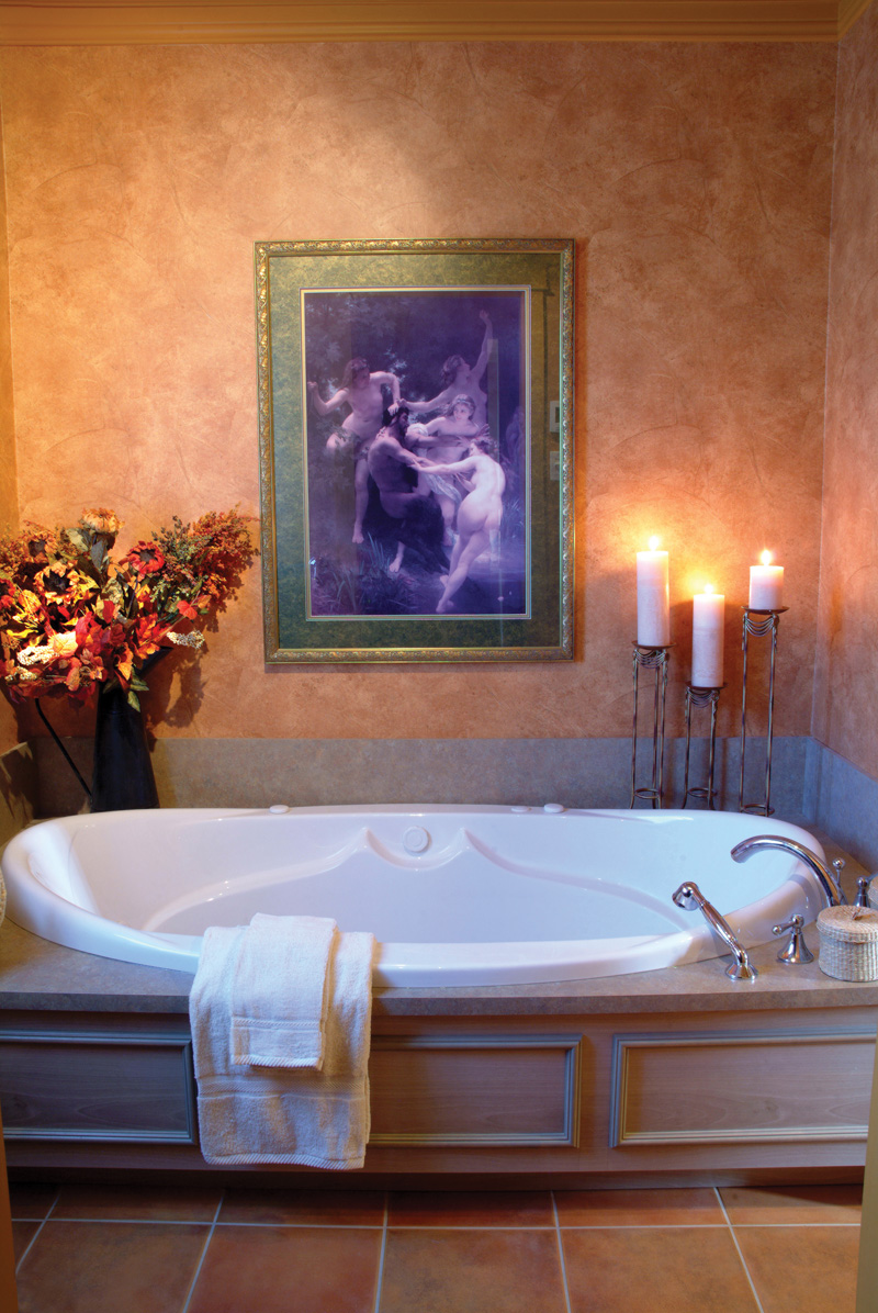 Waterfront Home Plan Bathroom Photo 01 032D-0609