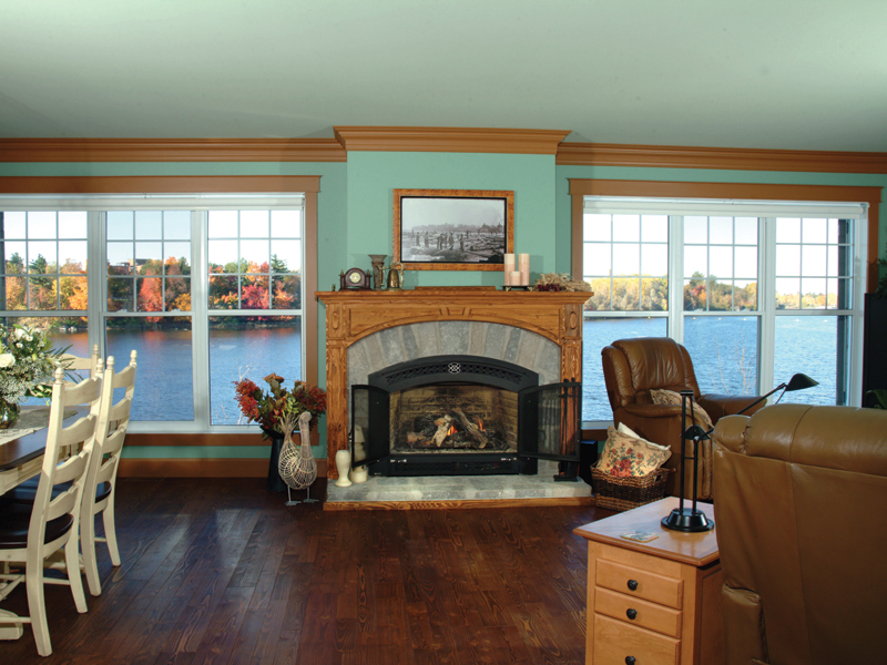 Country House Plan Fireplace Photo 01 032D-0609