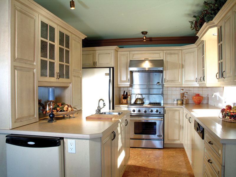 Southwestern House Plan Kitchen Photo 01 032D-0609