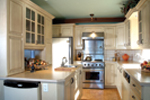 Tudor House Plan Kitchen Photo 01 - 032D-0609 | House Plans and More