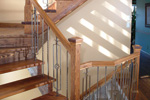 Tudor House Plan Stairs Photo - 032D-0609 | House Plans and More