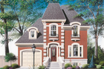 Grand European Style Two-Story Chateau