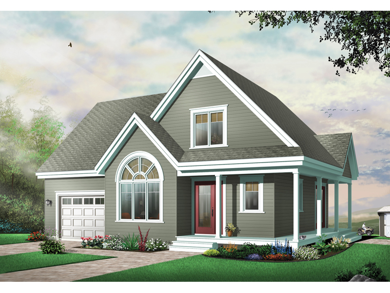 Farmhouse Plan Front Photo 01 - 032D-0622 | House Plans and More