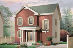 Neoclassical Home Plan Front Photo 01 - 032D-0629 | House Plans and More