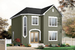 Traditional House Plan Front Photo 02 - 032D-0630 | House Plans and More