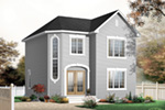 Traditional House Plan Front Photo 03 - 032D-0630 | House Plans and More