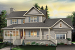 Craftsman House Plan Front Photo 01 - 032D-0633 | House Plans and More