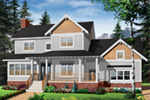 Arts & Crafts House Plan Front Photo 03 - 032D-0633 | House Plans and More