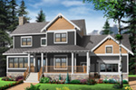 Arts & Crafts House Plan Front Photo 05 - 032D-0633 | House Plans and More