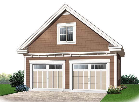 Ranch House Plan Garage Photo - 032D-0649 | House Plans and More