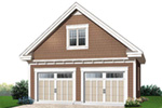 Traditional House Plan Garage Photo - 032D-0649 | House Plans and More