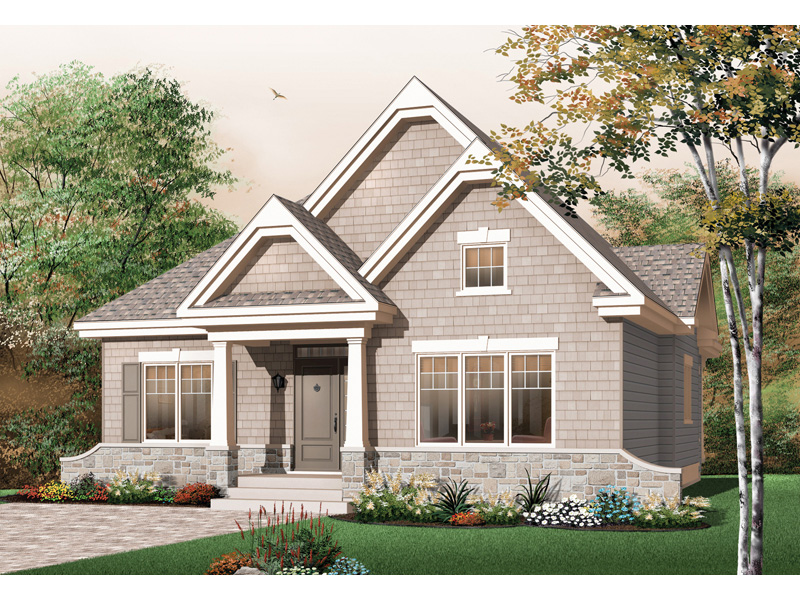 Country House Plan Front Image - 032D-0652 | House Plans and More
