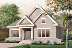 Modern House Plan Front Image - 032D-0652 | House Plans and More