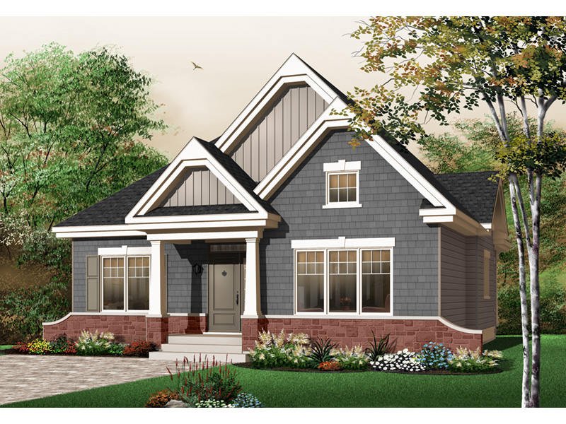 Country House Plan Front Photo 01 - 032D-0652 | House Plans and More
