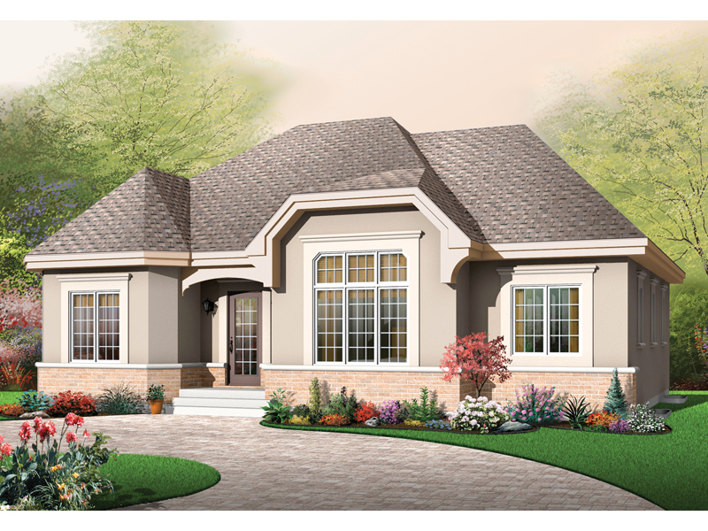Craftsman House Plan Front of Home - 032D-0653 | House Plans and More